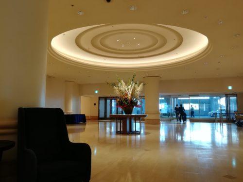 インターコンチネンタルホテルロビー