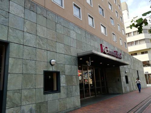 リッチモンドホテル玄関前