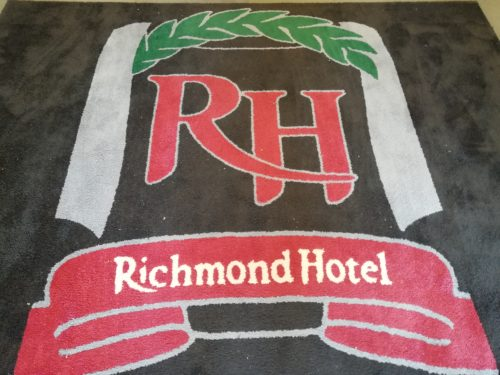リッチモンドホテル玄関マット