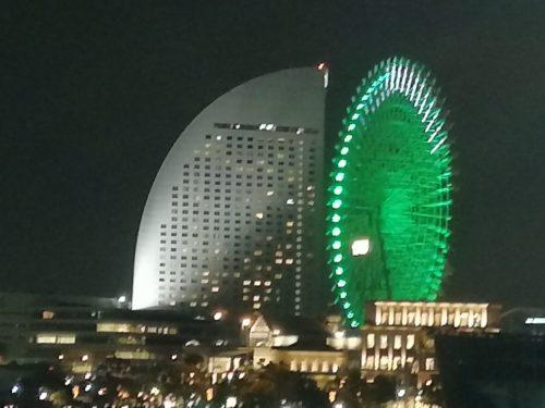 横浜コンチネンタルホテル夜景