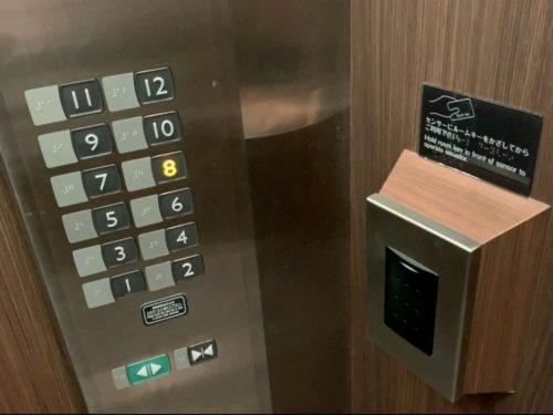 リッチモンドエレベーターカードキー