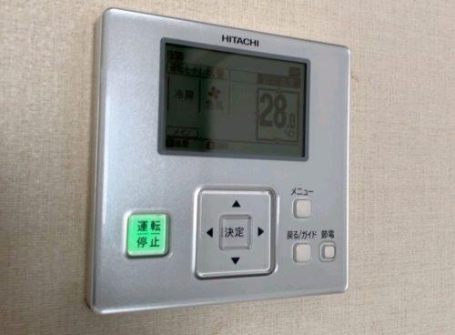 エアコンのコントローラー