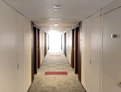 リッチモンドホテル廊下