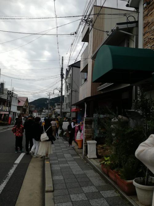 天龍寺へ向かう途中道