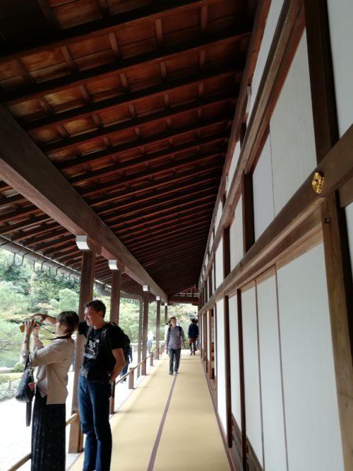 天龍寺の廊下1