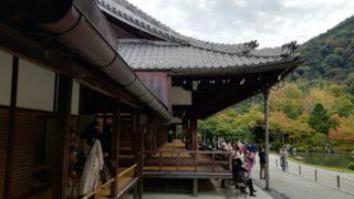 天龍寺大方丈の廊下