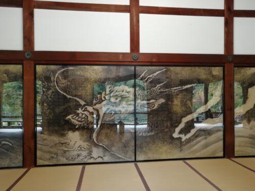 天龍寺 襖絵