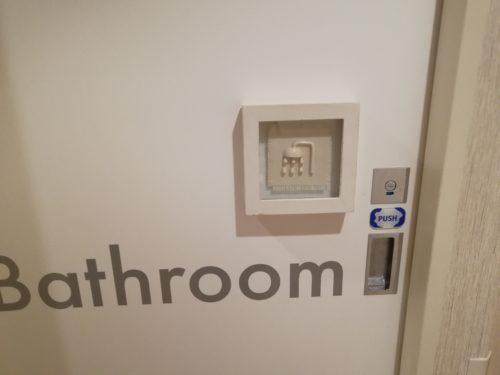 お風呂場のドア