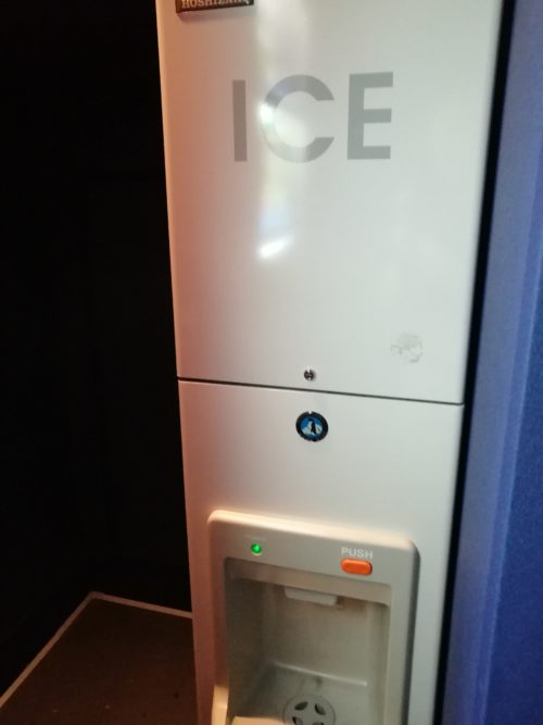 各階にある無料製氷機