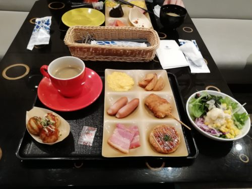 朝食プレート