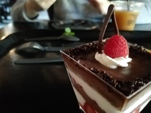 ハリポタエリアのケーキセット