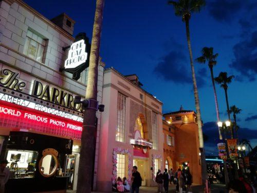 ハリウッド大通りの夜景4