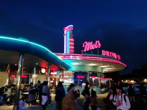 ハリウッド大通りの夜景3