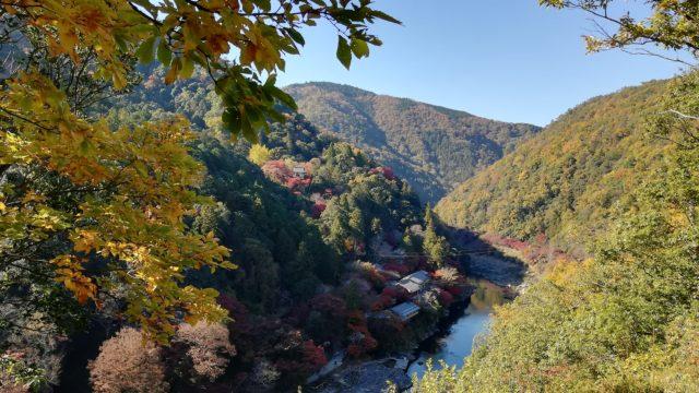嵐山公園の展望台からの景色1