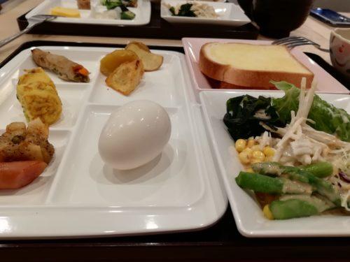 京都駅八条口の朝食1
