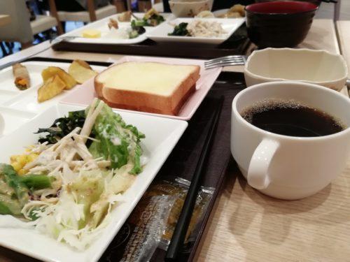 京都駅八条口の朝食2