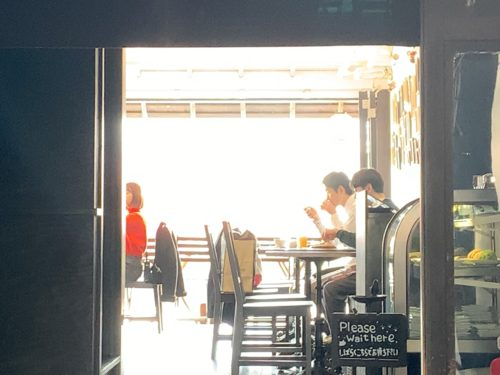 kawacafeの店内1