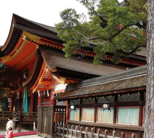 八坂神社本殿1