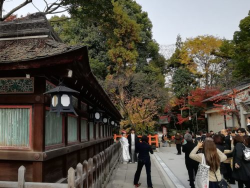 八坂神社の結婚式1