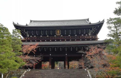 知恩院の三門3