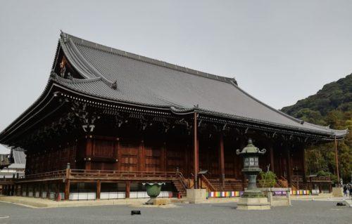 知恩院の本殿