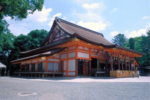八坂神社本殿2