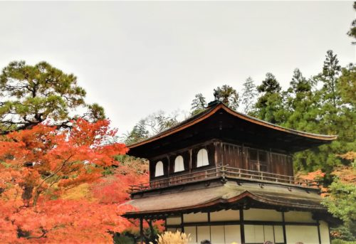 銀閣寺の観音殿1