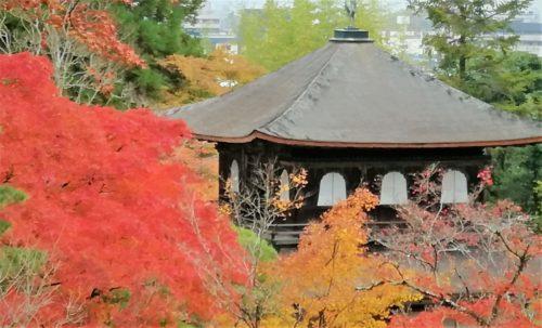 銀閣寺の展望台4