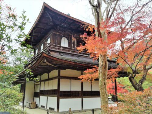 銀閣寺の観音堂2