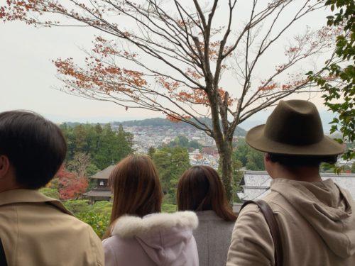銀閣寺の展望台1