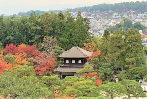 銀閣寺の展望台3