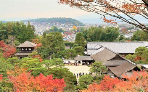 銀閣寺の展望台2