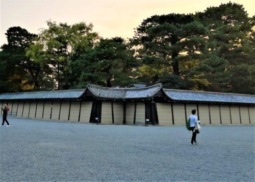 京都御苑の猿が辻