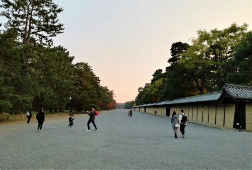 京都御所の周辺