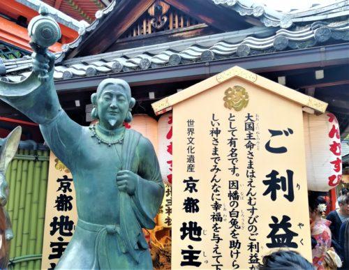 地主神社の大国主命1