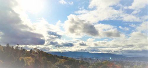 京都地主神社の空