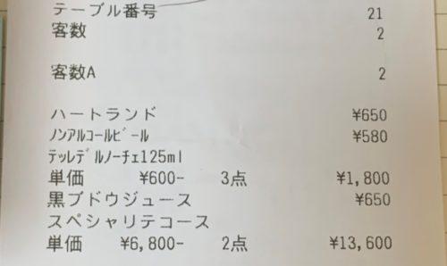 イカリヤ食堂お会計