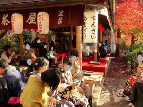 水寺の甘味処2
