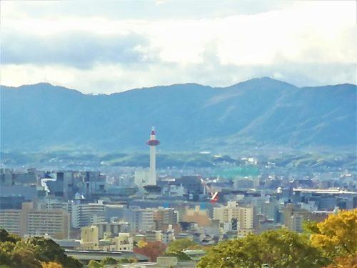 奥の院からの京都市内