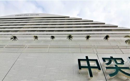 神戸メリケンパークオリエンタルホテル下から