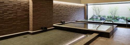 連の屋内大浴場