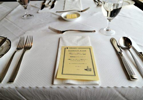 ルミナスのランチコーステーブル