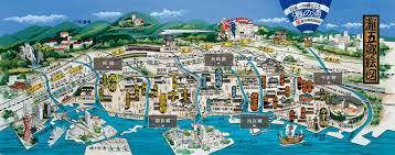 灘五郷の絵図