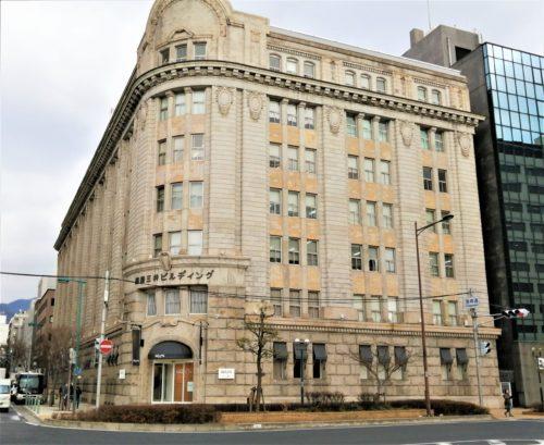 神戸の商船三井ビルディング