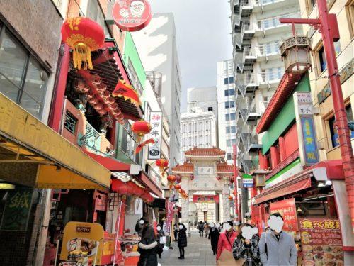 南京町の町の様子4