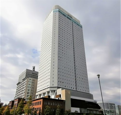 アパホテル横浜ベイタワー外観1