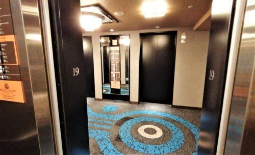 アパ横浜のエレベーター5