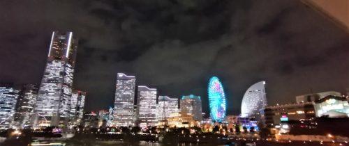 シティ側の夜景2