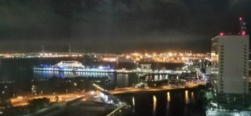 ベイブリッジ側の夜景1