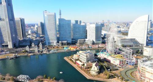 アパ横浜の眺望1